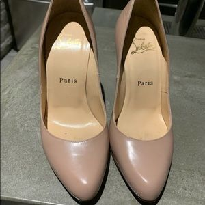 "AUTHENTIC LOUBOUTIN ""so kate"" PUMPS"